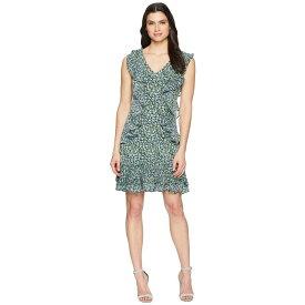 マイケル コース MICHAEL Michael Kors レディース ワンピース・ドレス ワンピース【Wildflower Cascade Dress】True Navy/Green Apple Multi