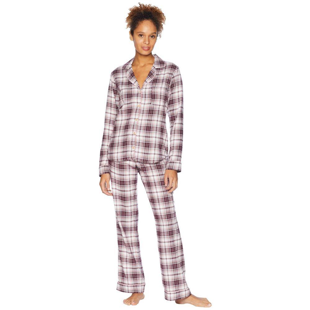 アグ UGG レディース インナー・下着 パジャマ・上下セット【Raven Woven Sleepwear Set Flannel Gift】Port Plaid