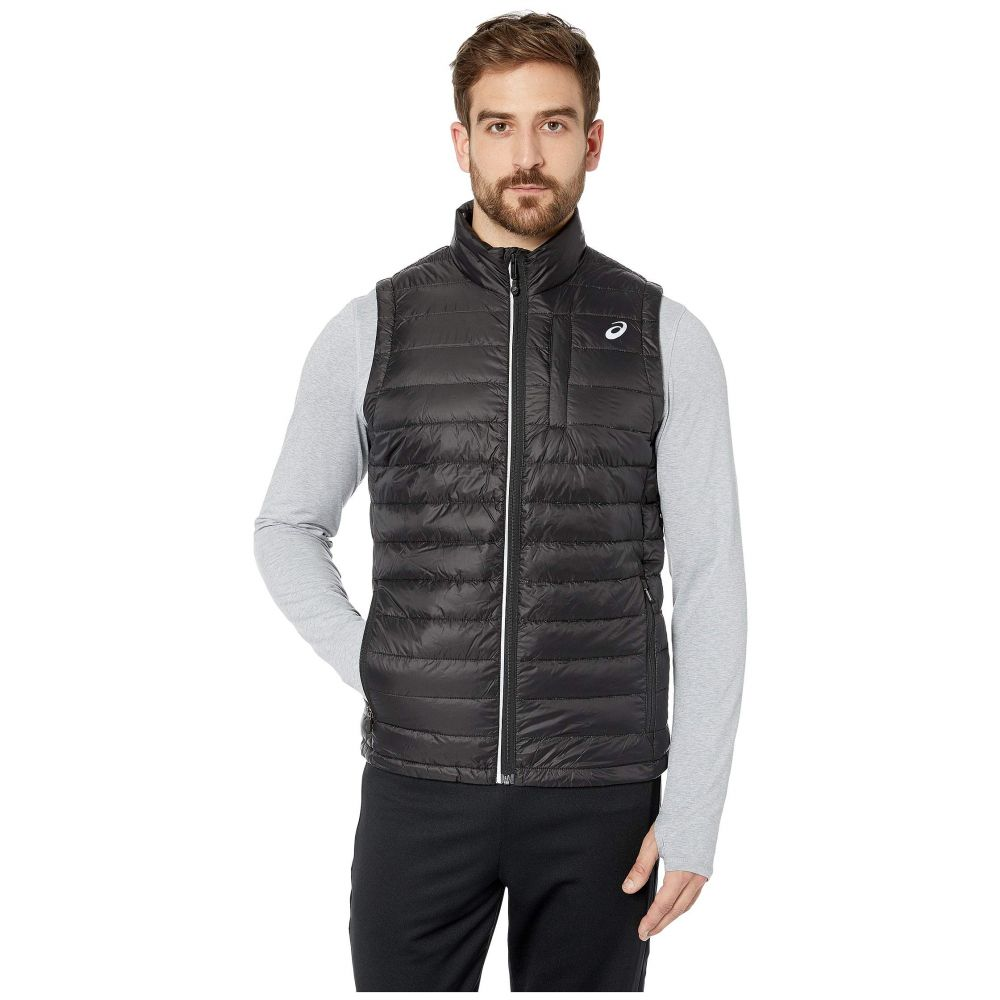 アシックス ASICS メンズ トップス ベスト・ジレ【Power Puffer Vest】Performance Black
