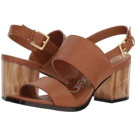 カルバンクライン Calvin Klein レディース シューズ・靴 サンダル・ミュール【Rosemary Block Heel Sandal】Cognac