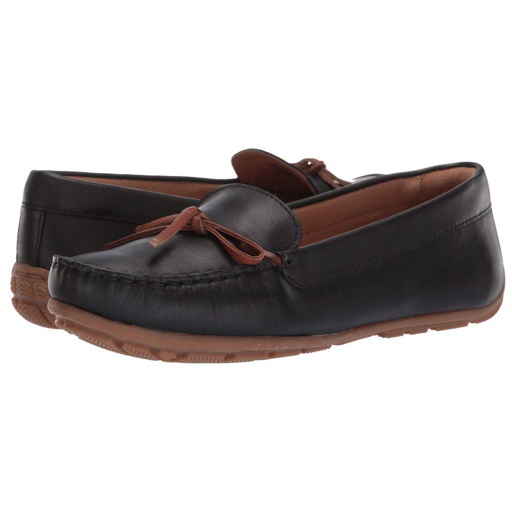 クラークス Clarks レディース シューズ・靴 ローファー・オックスフォード【Dameo Swing】Black Leather