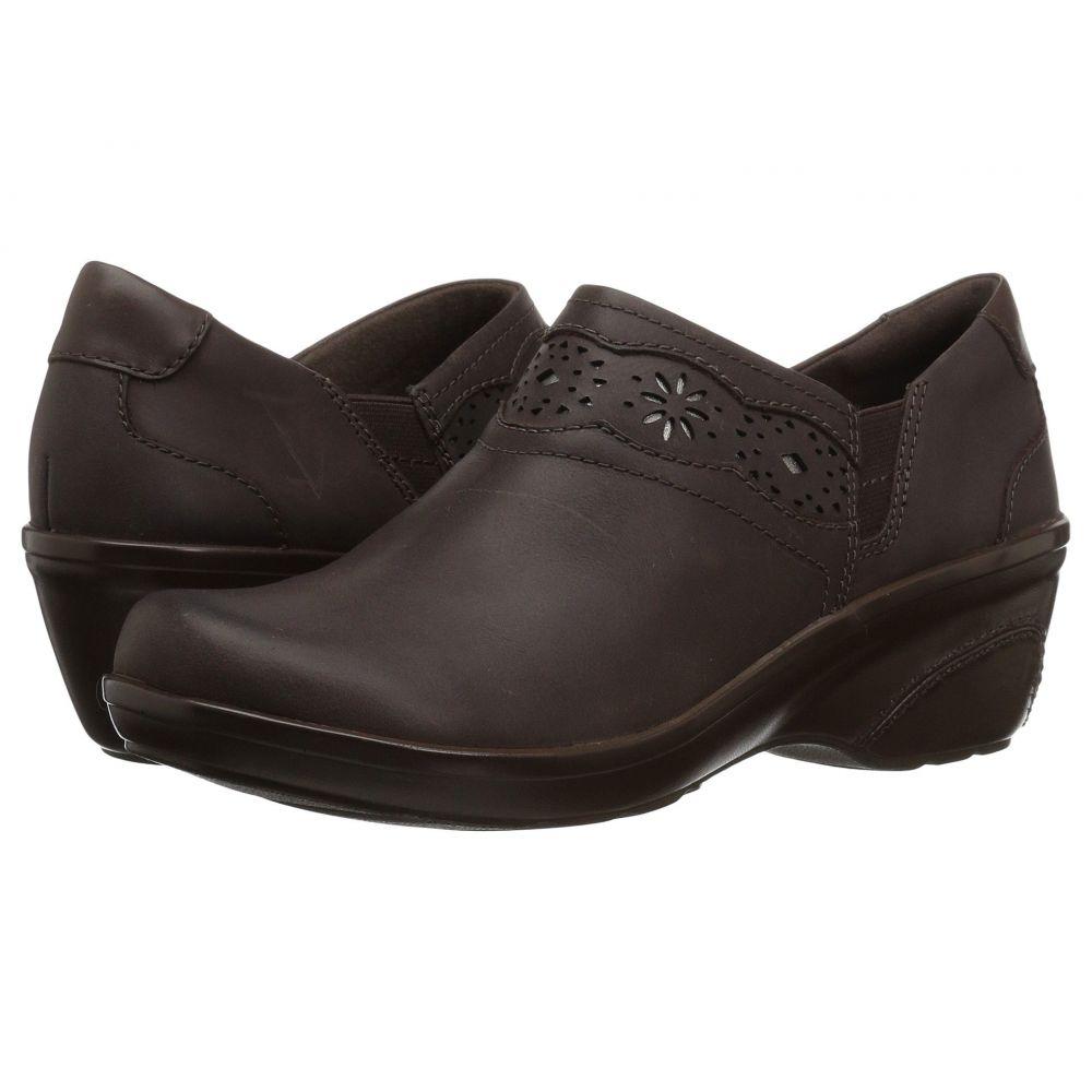 クラークス Clarks レディース シューズ・靴 ヒール【Marion Helen】Dark Brown Leather