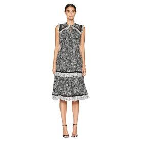 ケイト スペード Kate Spade New York レディース ワンピース・ドレス ワンピース【Broome Street Plains Ditsy Rayon Dress】Black/French Cream