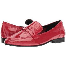 ケイト スペード Kate Spade New York レディース シューズ・靴 ローファー・オックスフォード【Genevieve】Maraschino Red Crinkle Patent