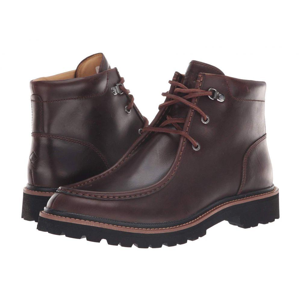 スペリー Sperry メンズ シューズ・靴 ブーツ【Gold Windsor Lug Chukka】Brown Leather