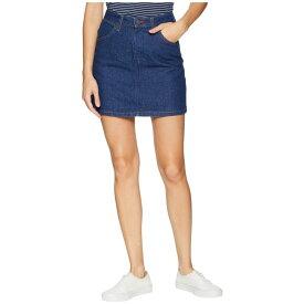 ヴァンズ Vans レディース スカート【Wrangler Skirt】Pre Washed Indigo