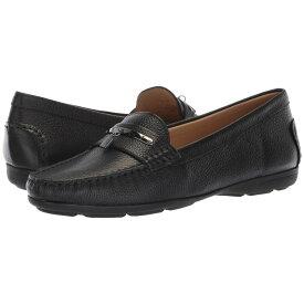ハッシュパピー Hush Puppies レディース シューズ・靴 ローファー・オックスフォード【Renita Charm】Black Pebbled Leather