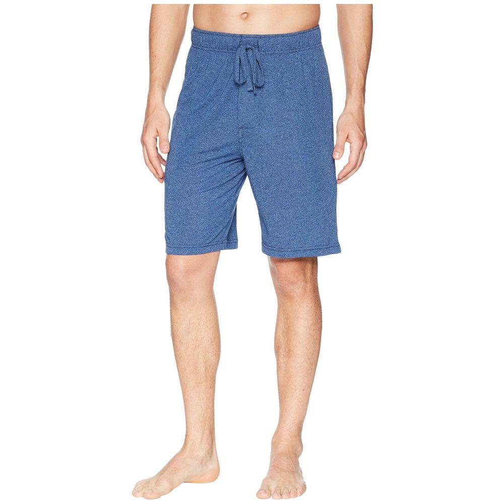 ジョッキー Jockey メンズ インナー・下着 パジャマ・ボトムのみ【50 Rayon/50 Poly Knit Sleep Shorts】Blue Tranquil/Stone Blue