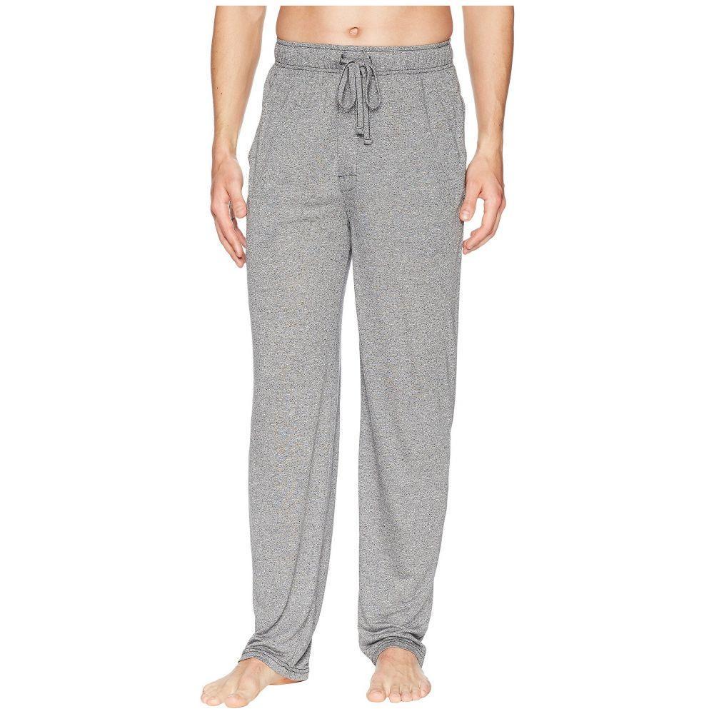 ジョッキー Jockey メンズ インナー・下着 パジャマ・ボトムのみ【50 Rayon/50 Poly Knit Sleep Pants】Caviar/Grey