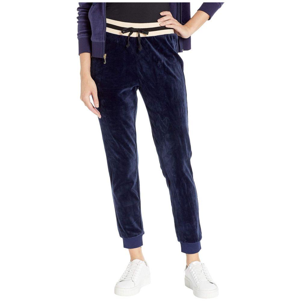 ジューシークチュール Juicy Couture レディース ボトムス・パンツ【Luxe Velour Pants】Royal Navy