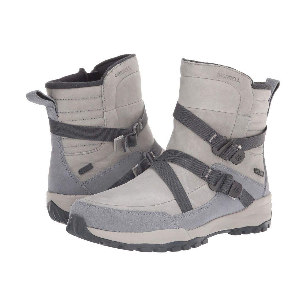 メレル Merrell レディース シューズ・靴 ブーツ【Icepack 8 Mid Zip Polar Waterproof】Monument