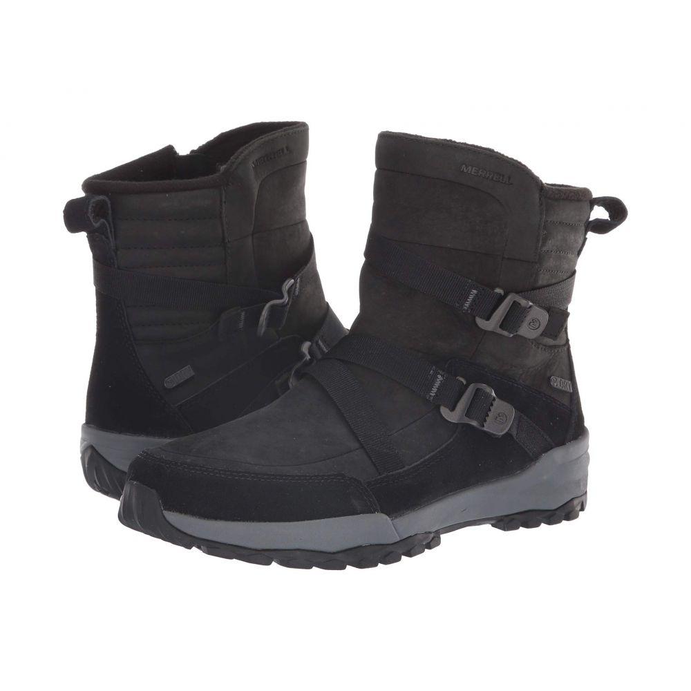 メレル Merrell レディース シューズ・靴 ブーツ【Icepack 8 Mid Zip Polar Waterproof】Black