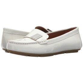 カルバンクライン Calvin Klein レディース シューズ・靴 ローファー・オックスフォード【Lisa】Platinum White