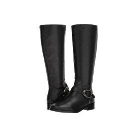 コーチ COACH レディース シューズ・靴 ブーツ【Brynn Signature Buckle Riding Boot】Black Extra Calf