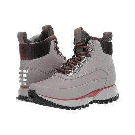 コールハーン Cole Haan レディース ハイキング・登山 シューズ・靴【Zerogrand Explore All-Terrain Hiker Waterproof】Ironstone Nubuck Waterproof/Plaid Wool/Magnet Neoprene/Red Ochre