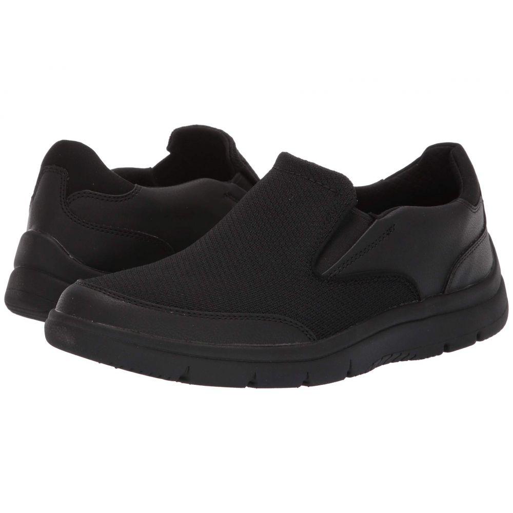 クラークス Clarks メンズ シューズ・靴 スニーカー【Tunsil Step】Black Knit