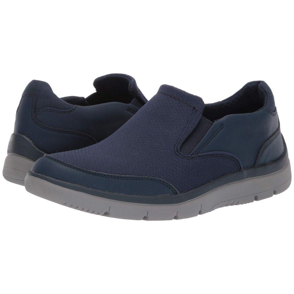 クラークス Clarks メンズ シューズ・靴 スニーカー【Tunsil Step】Navy Knit