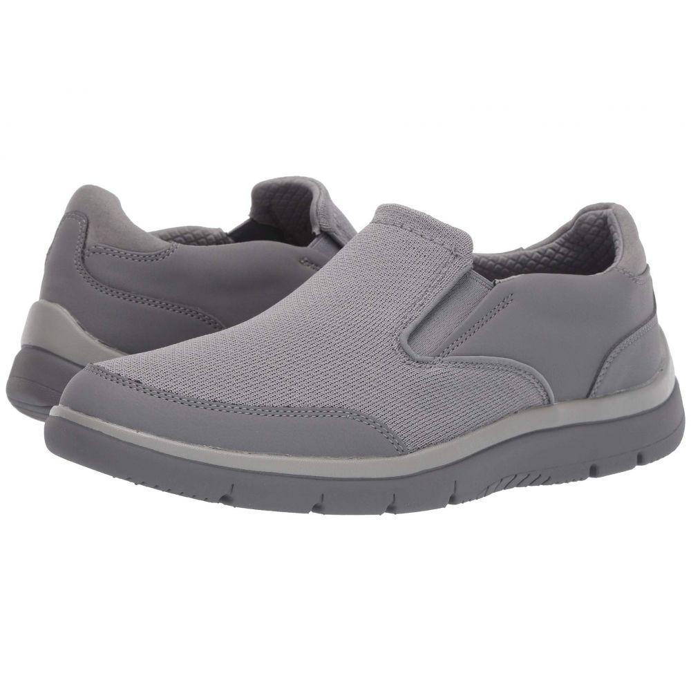 クラークス Clarks メンズ シューズ・靴 スニーカー【Tunsil Step】Grey Knit