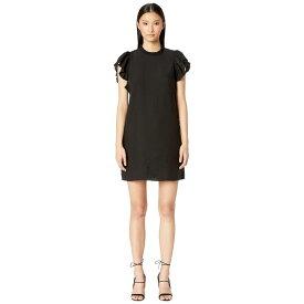 ケイト スペード Kate Spade New York レディース ワンピース・ドレス ワンピース【Dashing Beauty Ruffle Crepe Dress】Black
