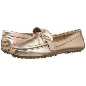 ラルフ ローレン LAUREN Ralph Lauren レディース シューズ・靴 ローファー・オックスフォード【Briley Moccasin Loafer】Rose Gold Metallic Leather
