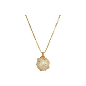 ケイト スペード Kate Spade New York レディース ジュエリー・アクセサリー ネックレス【Pearls Pearls Pearls Pearl Mini Pendant Necklace】Cream Multi