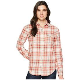 フィルソン Filson レディース トップス ブラウス・シャツ【Scout Shirt】Cream/Khaki/Red