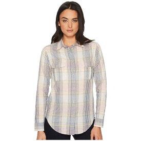 フィルソン Filson レディース トップス ブラウス・シャツ【Conway Shirt】Cream/Navy Orchard