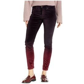 ハドソン Hudson レディース ボトムス・パンツ ジーンズ・デニム【Nico Mid-Rise Ankle Skinny Jeans in Degrade Burgundy Plum】Degrade Burgundy Plum