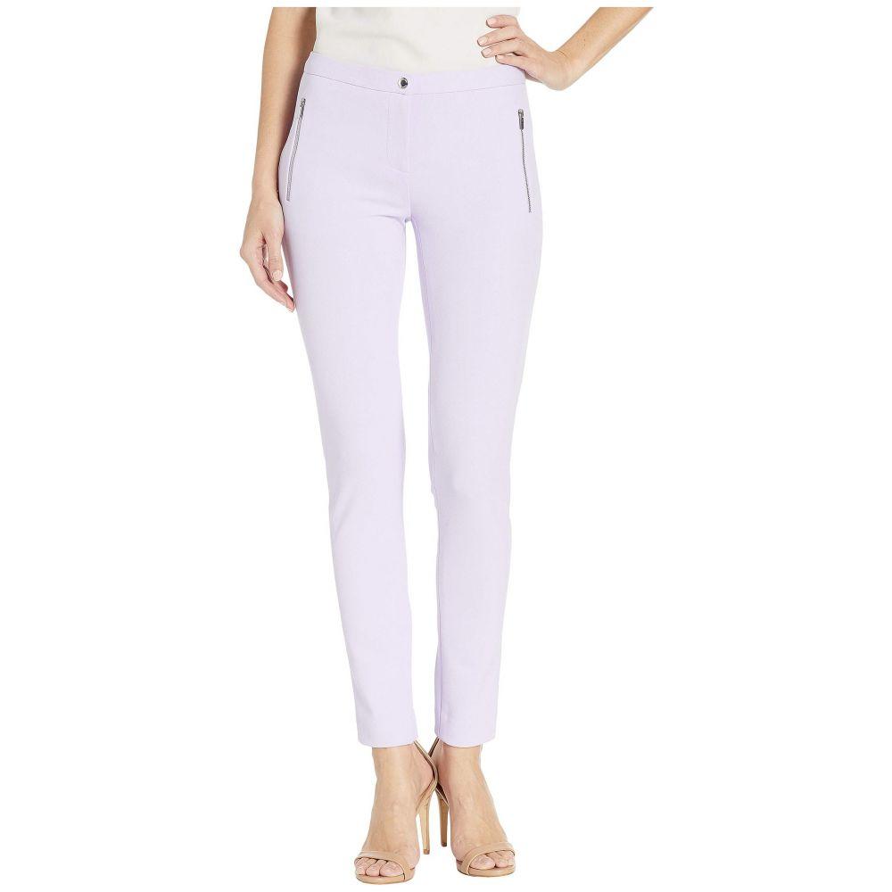 カルバンクライン Calvin Klein レディース ボトムス・パンツ【Zip Pocket Crepe Pants】Opal