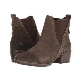 ティンバーランド Timberland レディース シューズ・靴 ブーツ【Sutherlin Bay Double Gore Chelsea】Olive Suede
