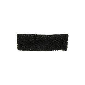 アディダス adidas レディース ヘアアクセサリー【Evergreen II Lurex Headband】Black/Gold Lurex