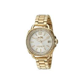 コーチ COACH レディース 腕時計【Tatum 34mm Bracelet with Swarovski Crystal】Gold Plated