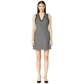 ケイト スペード Kate Spade New York レディース ワンピース・ドレス ワンピース【Dashing Beauty Houndstooth Tweed Dress】Black/Cream