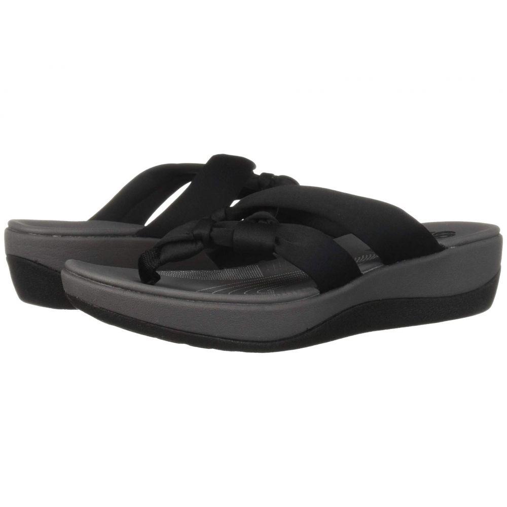 クラークス Clarks レディース シューズ・靴 サンダル・ミュール【Arla Jane】Black Heather Textile