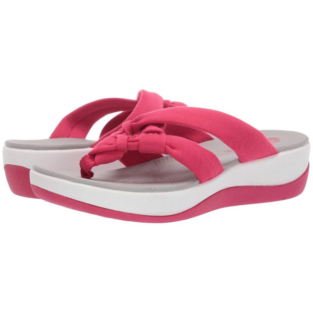 クラークス Clarks レディース シューズ・靴 サンダル・ミュール【Arla Jane】Bright Rose Solid Textile
