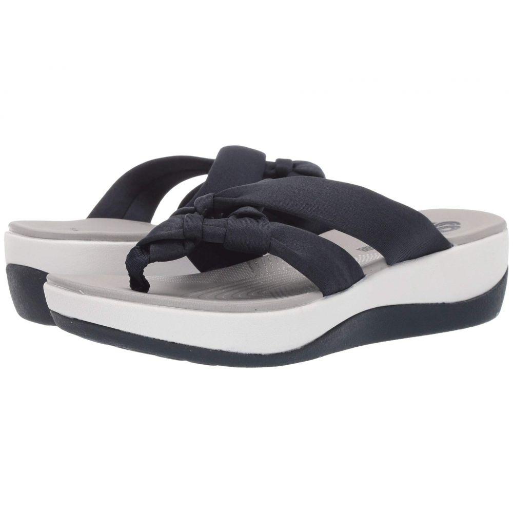 クラークス Clarks レディース シューズ・靴 サンダル・ミュール【Arla Jane】Navy Heather Textile