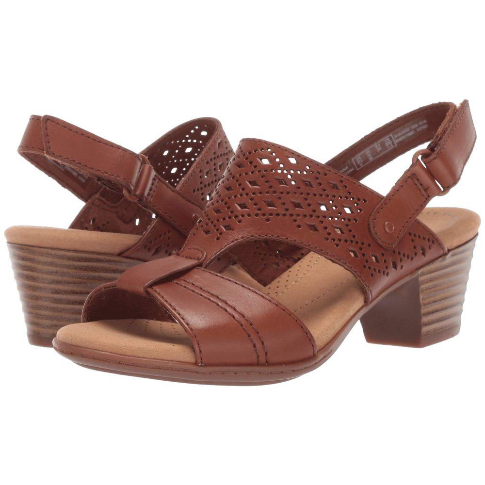 クラークス Clarks レディース シューズ・靴 サンダル・ミュール【Valarie Mindi】Tan Leather
