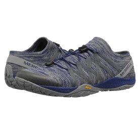 メレル Merrell メンズ ランニング・ウォーキング シューズ・靴【Trail Glove 4 Knit】Blue Depths