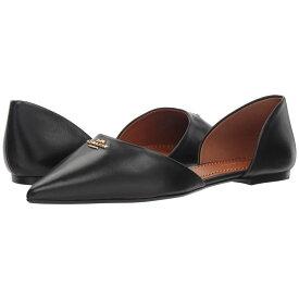 コーチ COACH レディース シューズ・靴 スリッポン・フラット【Leather Pointy Toe Flat】Black