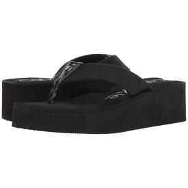 カルバンクライン Calvin Klein レディース シューズ・靴 ビーチサンダル【Mulan CK Logo】Black
