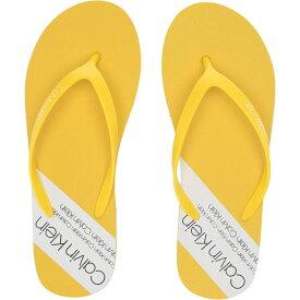 カルバンクライン Calvin Klein レディース シューズ・靴 ビーチサンダル【Sunny】Yellow