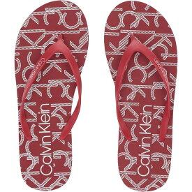 カルバンクライン Calvin Klein レディース シューズ・靴 ビーチサンダル【Syreeta】Red