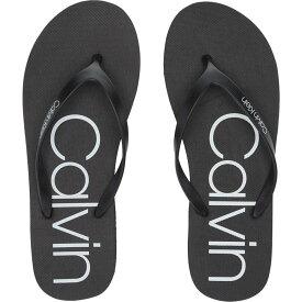 カルバンクライン Calvin Klein レディース シューズ・靴 ビーチサンダル【Salma】Black/White