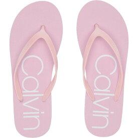 カルバンクライン Calvin Klein レディース シューズ・靴 ビーチサンダル【Salma】Pastel Pink/White