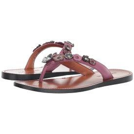 コーチ COACH レディース シューズ・靴 ビーチサンダル【Tea Rose Multi Thong Sandal - Leather】Primrose