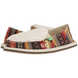 サヌーク Sanuk レディース シューズ・靴 ローファー・オックスフォード【Donna Sherpa Blanket】Molten Lava Blanket