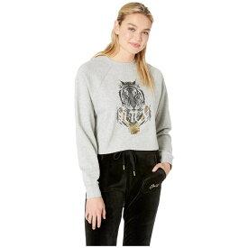 ジューシークチュール Juicy Couture レディース トップス【Photoreal Regal Tiger Logo Pullover】Heather Cozy