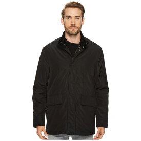 コールハーン Cole Haan メンズ アウター コート【32 3-in-1 Coat with Contrast Color Liner, Corduroy Collar and Knit Trim Details】Black