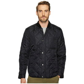 コールハーン Cole Haan メンズ アウター ジャケット【Transitional Quilted Nylon Jacket with Rib Knit Collar】Black