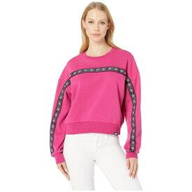 ジューシークチュール Juicy Couture レディース トップス フリース【Fleece Juicy Tape Pullover】Pixel Pink